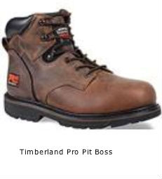 Timberland Pro Pit boss safety boot